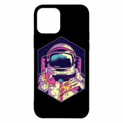 Чехол для iPhone 12/12 Pro Astronaut with donut and pizza