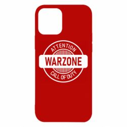 Чехол для iPhone 12/12 Pro Attention Warzone
