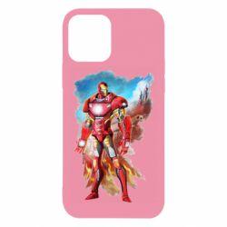 Чохол для iPhone 12/12 Pro Avengers iron man drawing