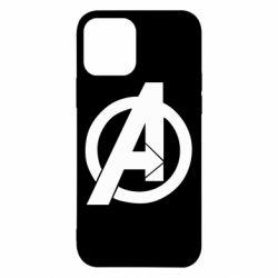 Чохол для iPhone 12/12 Pro Avengers logo