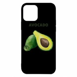Чехол для iPhone 12/12 Pro Avocado watercolor
