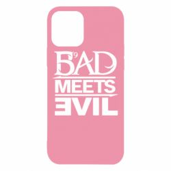 Чехол для iPhone 12/12 Pro Bad Meets Evil