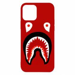Чехол для iPhone 12/12 Pro Bape shark logo