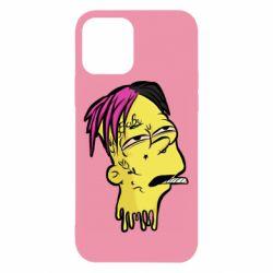 Чехол для iPhone 12/12 Pro Bart as Lil Peep