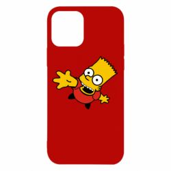 Чехол для iPhone 12/12 Pro Барт Симпсон