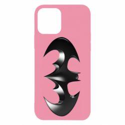 "Чехол для iPhone 12/12 Pro Batman ""3d Logo"""
