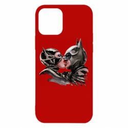 Чехол для iPhone 12/12 Pro Batman and Catwoman Kiss