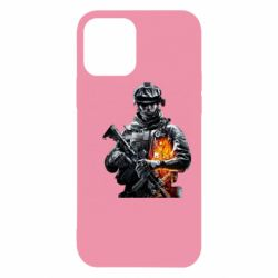 Чехол для iPhone 12/12 Pro Battlefield Warrior