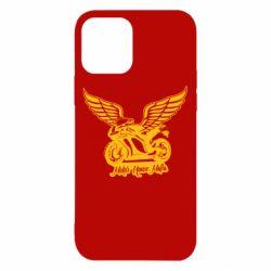 Чехол для iPhone 12/12 Pro Байк с крыльями