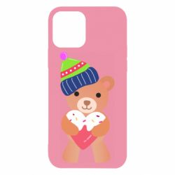 Чехол для iPhone 12/12 Pro Bear and gingerbread