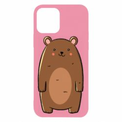 Чехол для iPhone 12/12 Pro Bear with a smile