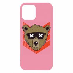 Чехол для iPhone 12/12 Pro Bear with glasses