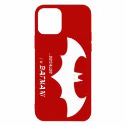 Чохол для iPhone 12/12 Pro Because i'm batman