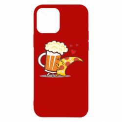 Чохол для iPhone 12/12 Pro Beer and Pizza were kissed
