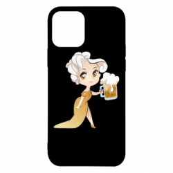 Чохол для iPhone 12/12 Pro Beer girl