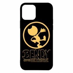 Чехол для iPhone 12/12 Pro Bendy and the Ink Machine text