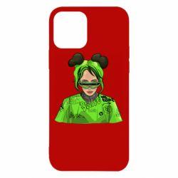 Чохол для iPhone 12 Billie Eilish green style