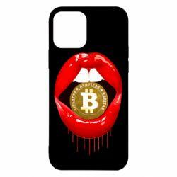Чохол для iPhone 12/12 Pro Bitcoin in the teeth