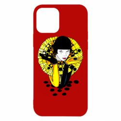Чехол для iPhone 12/12 Pro Black and yellow clown