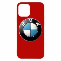 Чехол для iPhone 12/12 Pro BMW Logo 3D
