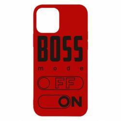 Чохол для iPhone 12/12 Pro Boss mode