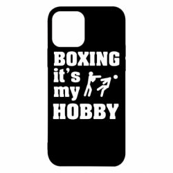 Чехол для iPhone 12/12 Pro Boxing is my hobby