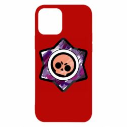 Чехол для iPhone 12/12 Pro Brawl logo purple