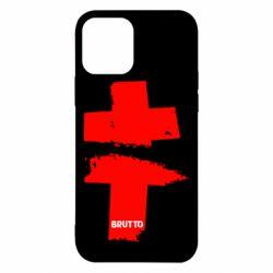 Чехол для iPhone 12/12 Pro Brutto Logo