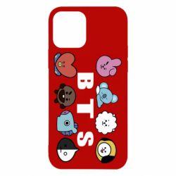 Чохол для iPhone 12/12 Pro Bts emoji