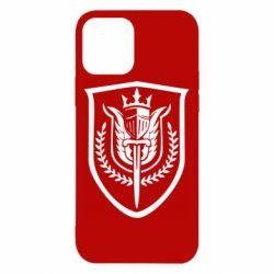 Чохол для iPhone 12 Call of Duty logo with shield