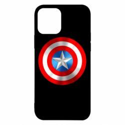 Чехол для iPhone 12/12 Pro Captain America 3D Shield