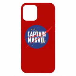 Чохол для iPhone 12/12 Pro Captain Marvel in NASA style