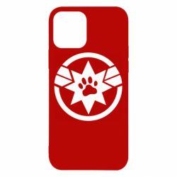 Чохол для iPhone 12/12 Pro Captain Marvel's Cat