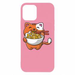 Чохол для iPhone 12/12 Pro Cat and Ramen
