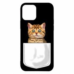 Чехол для iPhone 12/12 Pro Cat in your pocket