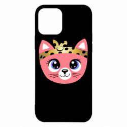 Чехол для iPhone 12/12 Pro Cat pink