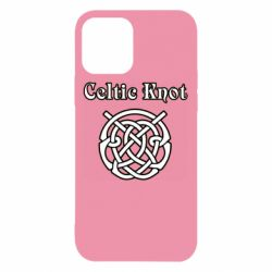 Чохол для iPhone 12/12 Pro Celtic knot black and white