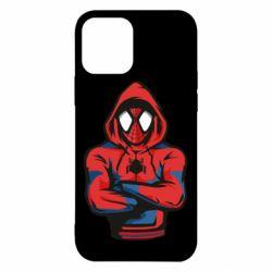 Чохол для iPhone 12/12 Pro Людина павук в толстовці
