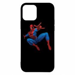Чохол для iPhone 12/12 Pro Людина павук