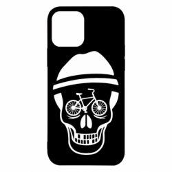 Чехол для iPhone 12/12 Pro Череп велосипедиста