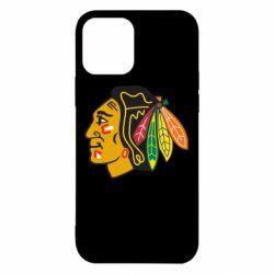 Чехол для iPhone 12/12 Pro Chicago Black Hawks
