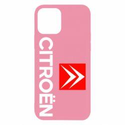 Чехол для iPhone 12/12 Pro Citroën Small