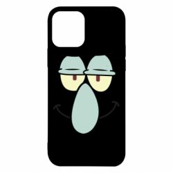 Чехол для iPhone 12/12 Pro Contented emoticon with a big nose