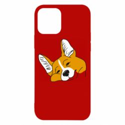 Чохол для iPhone 12/12 Pro Corgi is dozing