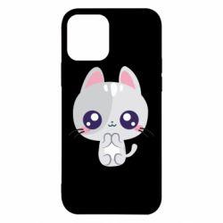 Чохол для iPhone 12/12 Pro Cute cat with big eyes