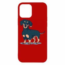 Чохол для iPhone 12/12 Pro Cute dachshund