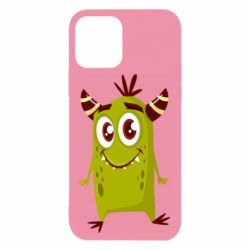 Чохол для iPhone 12/12 Pro Cute green monster