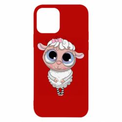 Чехол для iPhone 12/12 Pro Cute lamb with big eyes