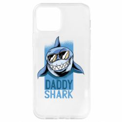 Чехол для iPhone 12/12 Pro Daddy shark