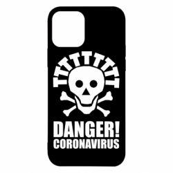 Чохол для iPhone 12 Danger coronavirus!